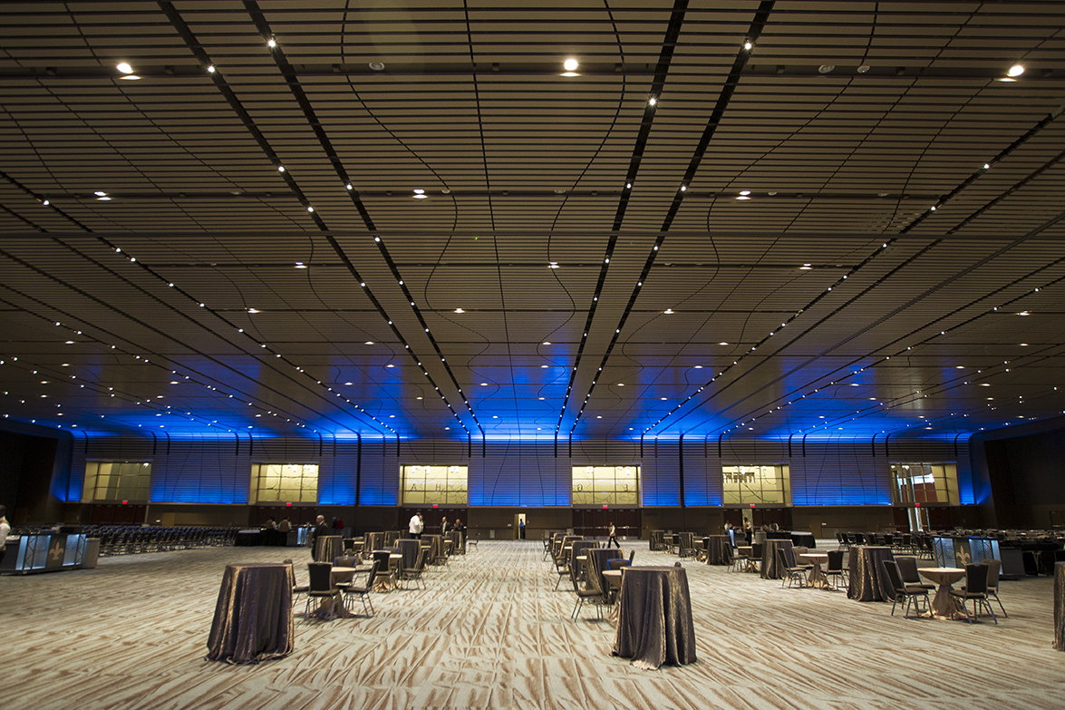 New Orleans Interior Design Photo Gallery Ernest N Morial Convention Center