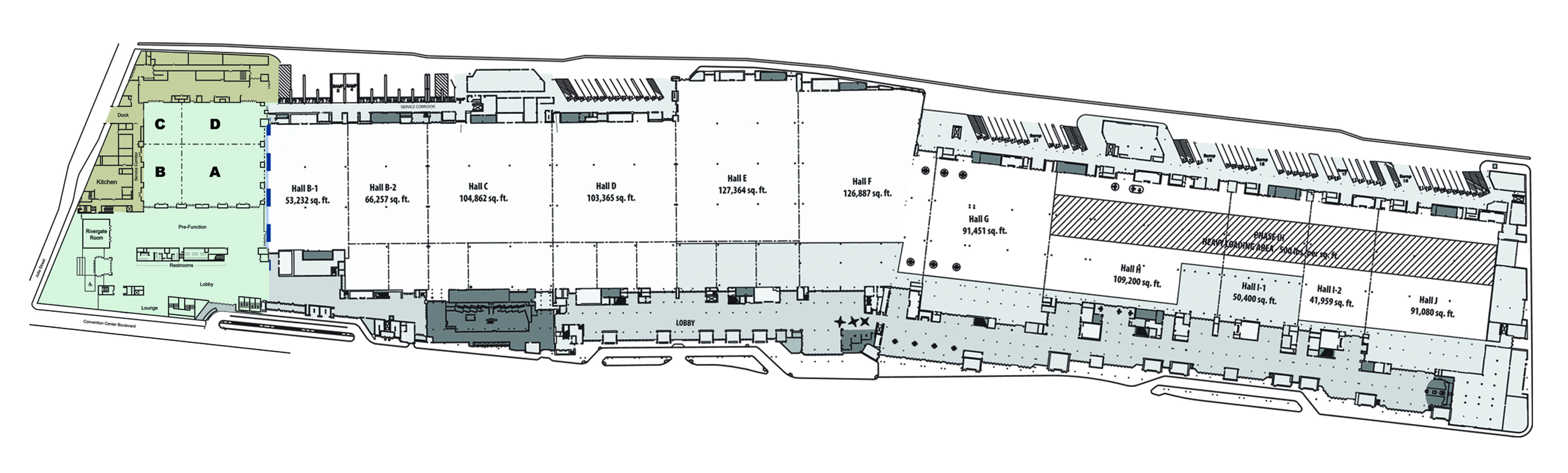 New orleans convention center floor plan gurus floor for Blueprints website