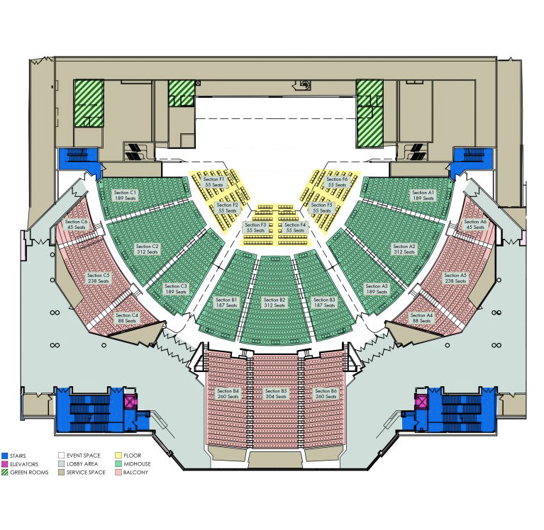 map new orleans convention center Floorplans Capacities Mccno map new orleans convention center