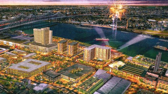 Rendering of the Convention Center District Development Project